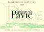 Aromes de Pavie 2009