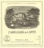 Carruades de Lafite 2004