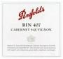 Penfolds Bin 407 Cabernet Sauvignon Cork Seal 2014